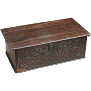 Bible box...Carved chest...