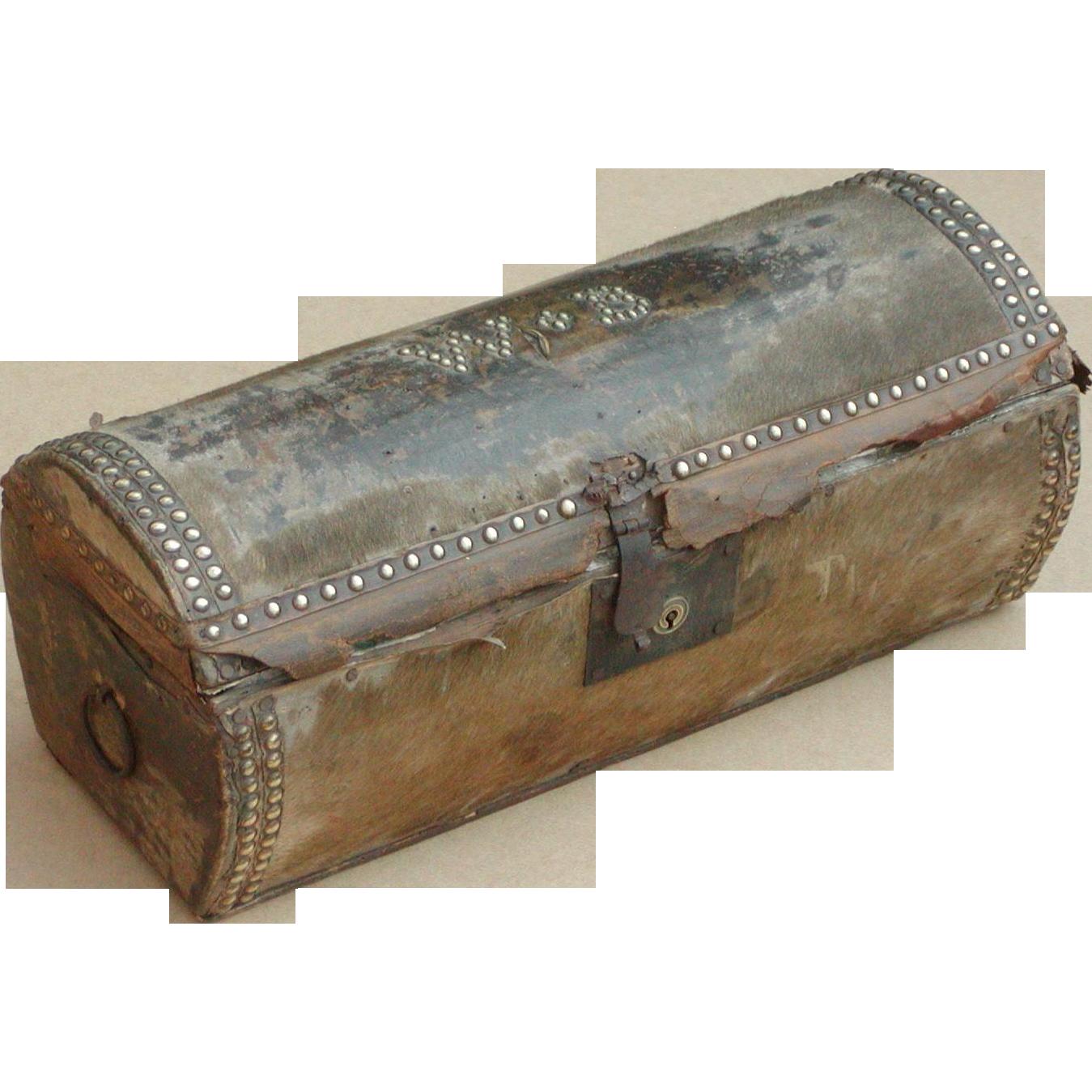 Trunk...Log trunk...Stagecoach trunk...