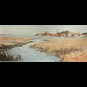 Bosham Harbor painting....Painting of Bosham...