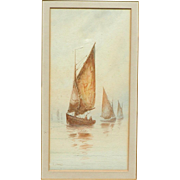 Sailing boats painting...Painting of boats...
