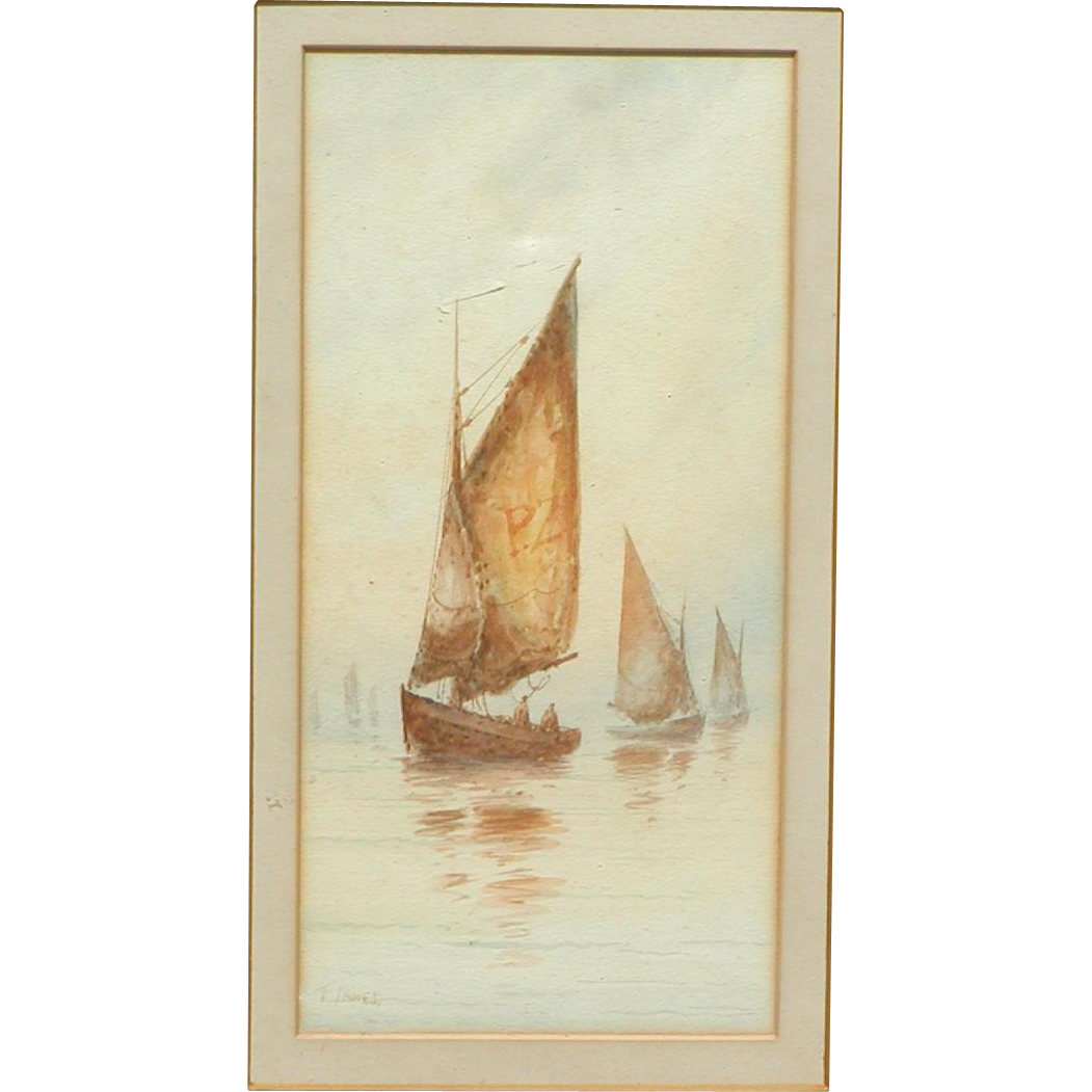 Sailing boats painting...Painting of boats...