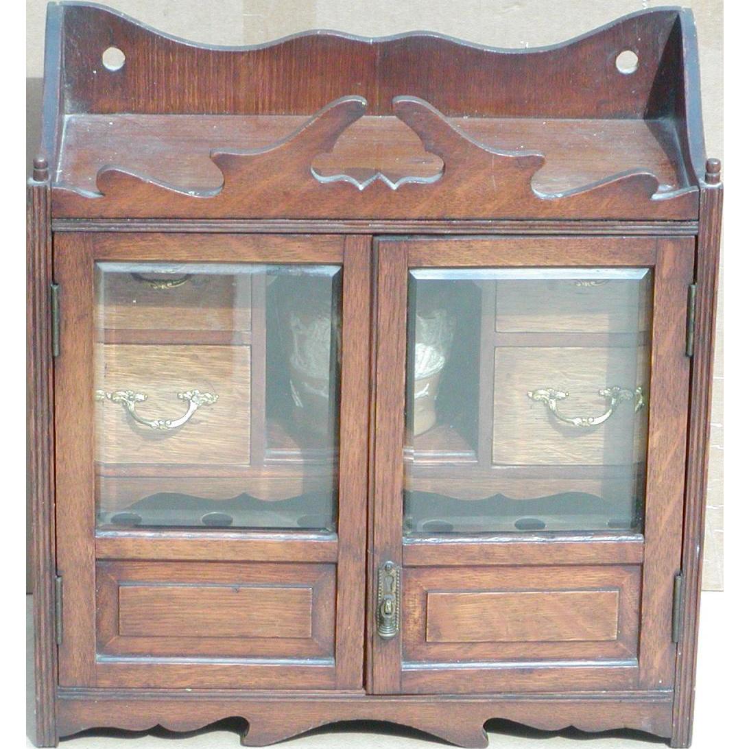 Humidor...Humidor cabinet...Vintage humidor