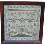 Sampler...Needlework sampler...1836 sampler...