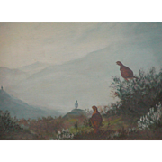 Grouse painting...Painting of Grouse...