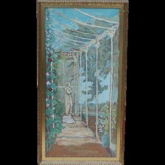 Classical painting...Sir William Hamilton kerr watercolor painting...