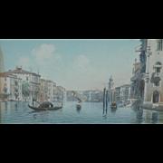 Venice painting...Venetian painting...Bridge of Sighs...