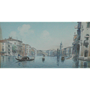 Venice painting...Venetian painting...Bridge of Sighs...