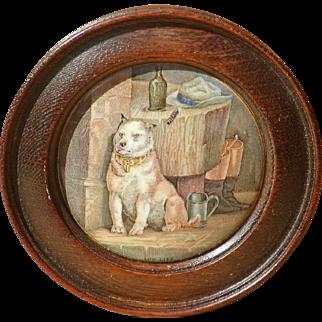 Pot lid...Low Life pot lid...Victorian pot lid titled Low Life...