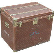 Trunk...Vintage trunk...Aux Etats Unis Trunk...
