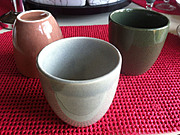 1930's Russel Wright American Modern Tumblers in Assorted Colors
