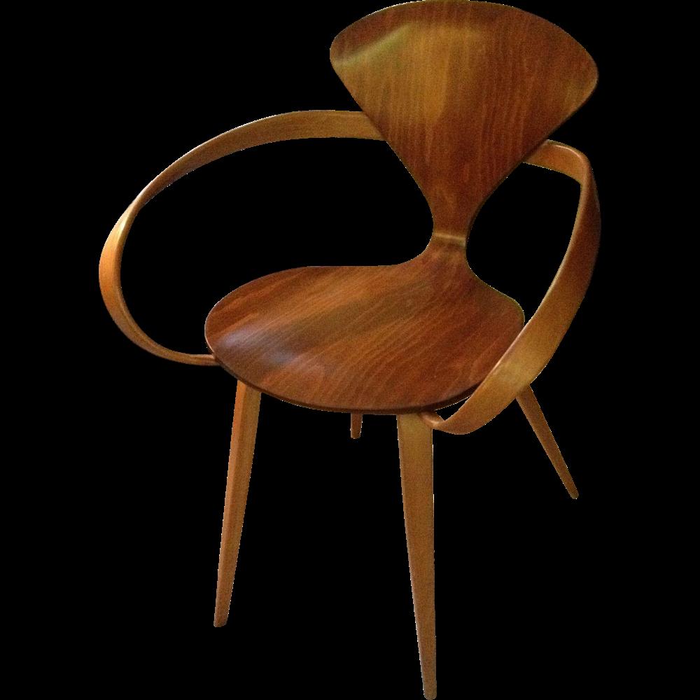vintage original plycraft pretzel chair norman cherner c1958