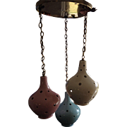 Ceramic Pendant Lights Mid Century