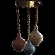 Ceramic Pendant Lights Mid Century