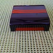 Plastic/Bakelite Cigarette Box