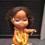 Hawaiian Musical Doll