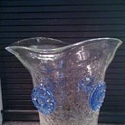 Blenko Glass with Rosettes