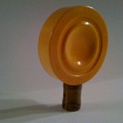 Butterscotch Bakelite Lamp Finial