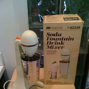1960's Soda Fountain Drink Mixer
