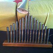 Gorgeous Organ Pipe Looking Lamp 1950's