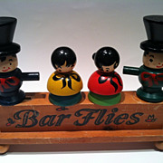 Bar Flies Barware 1950's