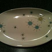 Franciscan Starburst Small Platter 1950's