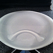 American Modern Granite Grey Russel Wright Hostess Plate