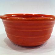 Bauer Ringware Orange/Red Bowl
