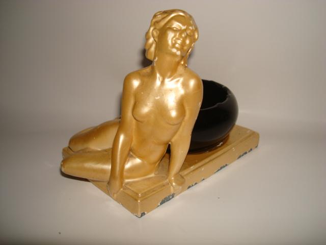 Art Deco Figural Ashtray