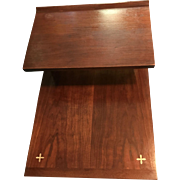 Paul McCobb Walnut Step End Table
