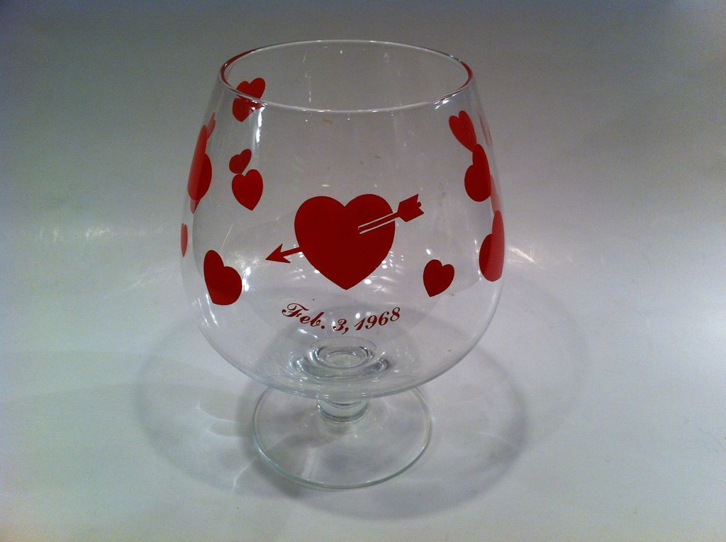 Valentine Brandy Snifter