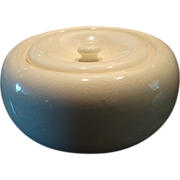American Modern Steubenville  Russel Wright Ice Box Jar with Lid