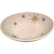 Franciscan Starburst Vegetable Bowl 1950's