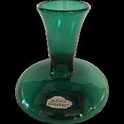 1950's Green Vase Blenko