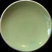 1930's Eva Zeisel Chartreuse Dinner Plate