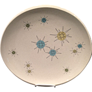 Franciscan Starburst Dinner Plate 1950's
