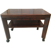 Brazilian Rosewood End Table