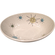 Franciscan Starburst Oval Vegetable Bowl 1950's