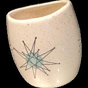 Franciscan Starburst Mustard Jar 1950's