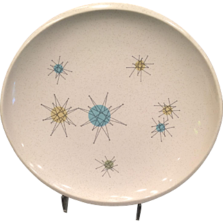Franciscan Starburst Luncheon Plate 1950's