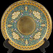 LOUIS-CONSTANT SEVIN Orientalist Bronze-Dore Barbedienne Champleve Plateau