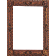 Spanish Tramp Art Pine Frame