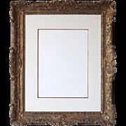 English or French Gilt Wood Frame