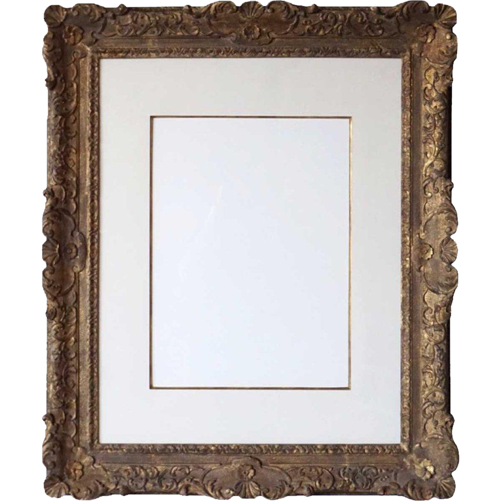 English or French Gilt Wood Frame