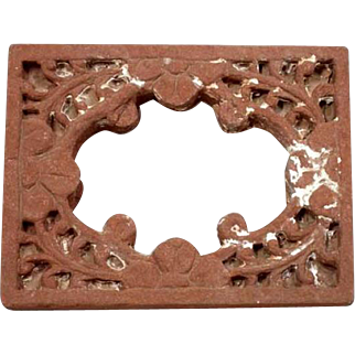 Small Indian Sandstone Architectural Window Frame