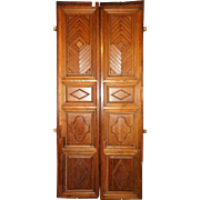 South Indian Teak Double Door with Frame