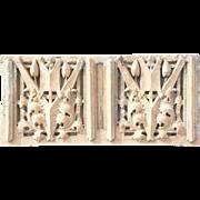 American GEORGE ELMSLIE Morton School Terracotta Architectural Panel