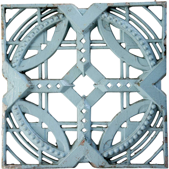 American Original John deKoven Hill Reticulated Aluminum Modular Panel