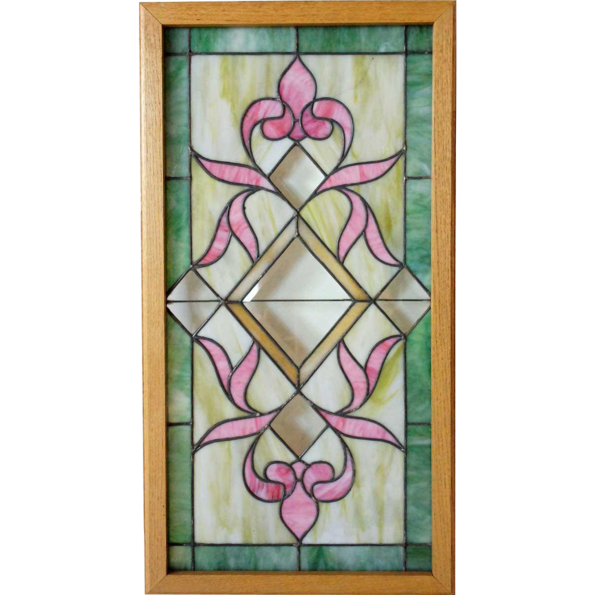American Stained, Leaded and Beveled Glass Window