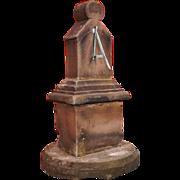 Scottish Yorkstone Vertical Sundial Pedestal