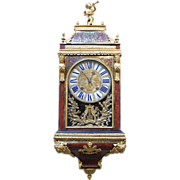 French Late Louis XIV Ormolu Mounted Boulle Bracket Clock